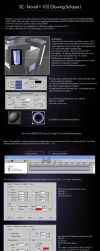 SC-glowing surfaces by 3d-studio-max