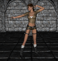 Tomb Raider - Lara Croft 8 by FatalHolds