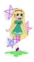 [REQUEST] Star Butterfly for Prentis-65 by NekoMimiDesuDesu