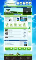 SuperGreenMe.com HOme Page by themetamy