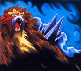 entei strong II by powerjudjee