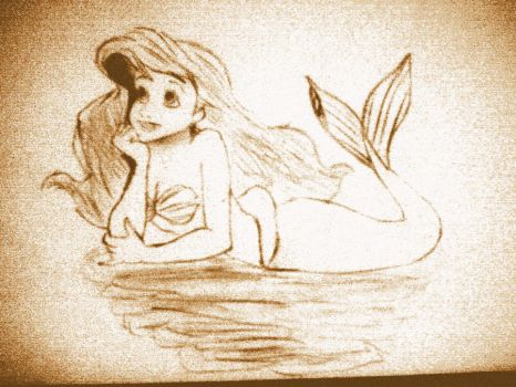 Ariel: The Little Mermaid by ChaoticWhitney