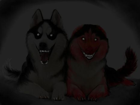 Smile Doggies by ricenator