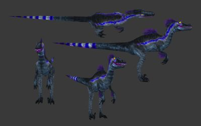 Carnivores: New World - Sinornithosaurus by Poharex