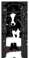 The Cow That Ate The Piper by handtoeye