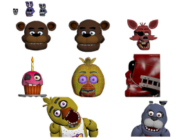FNAF's 2nd Anniversary Resource by Some-Crappy-Edits