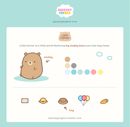 Little Corner Character Sheet by SqueakyToybox