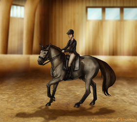 EAE Tamarind - Dressage by ElreniaGreenleaf