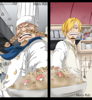 One Piece 902 - Zeff and Sanji by MavisHdz