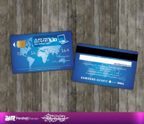 Metra Computer Business Card by mehrdadsml