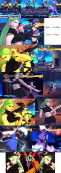 Morrigan Night Club Costume by bbbSFXT