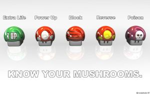 KNOW YOUR MUSHROOMS 1680x1050 by Wetpixels