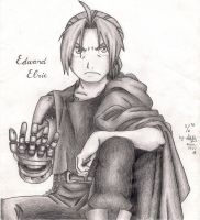 Edward Elric by aliciachristy
