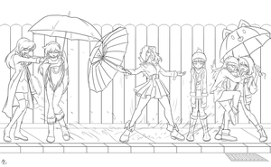 FM: Singing in the rain (unpainted) by mauroz