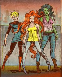 Casual A-Force by TheCosmicBeholder