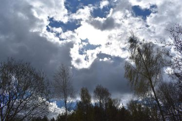 Cloudscape from Juglas Rugby Stadions [1] by DennisDrake796