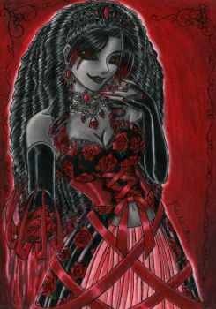 +Hail The Queen+ by MaliciousMisery