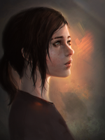 The Last of Us: Ellie by ae-rie