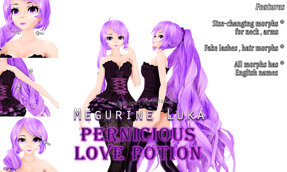 .:DL:. Megurine Luka ~ Pernicious Love Potion by MPanda01
