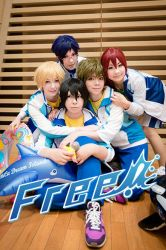 Iwatobi swimming club by char-min