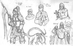 Fierce Wars and Faithful Loves: Characters 1 by DWestmoore