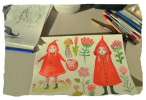 Little Red Riding Hood by V-L-A-D-I-M-I-R
