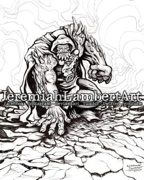 Dr Doomsday Inks by JeremiahLambertArt