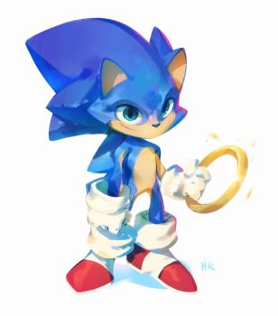 Sonic The Hedgehog by nicholaskole