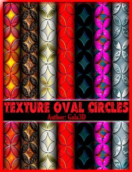 Texture with oval circles by Gala3d