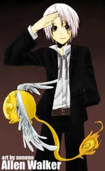 D.Gray-man: Allen Walker by neneno
