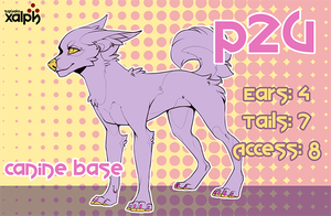 P2U Canine Base 6 by SXalph