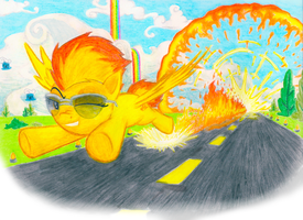 Sonic Spitfire by KairoSeed