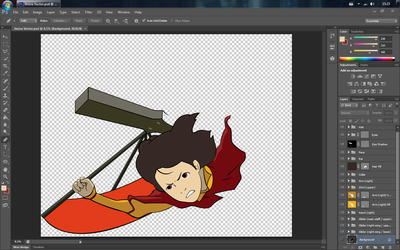 Jinora Vector (WIP) by MKC7162387