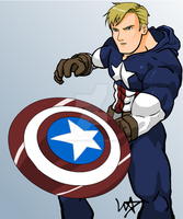 Captain America by Materia-Master