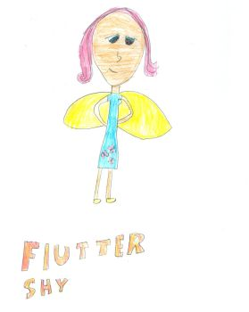 Fluttershy Humanized by bronysrus