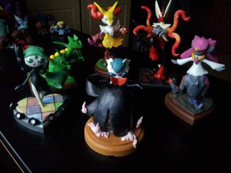 SALE NOW ON. Hand sculpted pokemon. by dobharachu