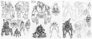 Planet of the Ape sketches by Axel13-Gallery