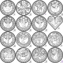 Coloring Pages JPEG's by Akili-Amethyst