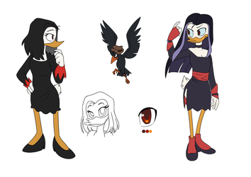 Magica De Spell both style by WinterPower98