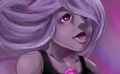 AMETHYST by DRA9ONS