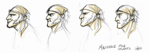 Face studies by Sfaira