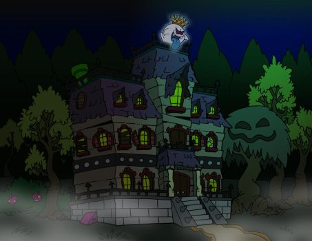 Welcome to Boo Mansion by BenjaminTDickens