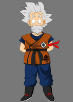 Grandpa Goku jr. by MAD-54