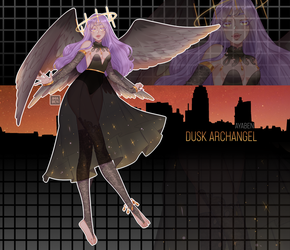 adoptober: dusk archangel auction [CLOSED] by ayaben