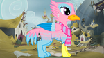 Amana the Griffin by Cupcake2424