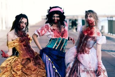 Zombie Princesses by Blasteh