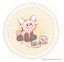 teatime with stufful by Paleona