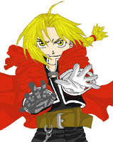 Edward Elric (request) by TaisanKiritoMustang6