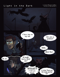 P-NO: Light in the Dark PG1 by RosariaBec