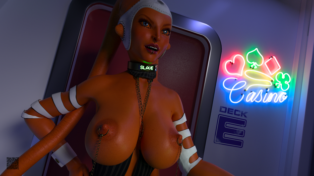 VIP Casino Entrance - Bust by cwichura